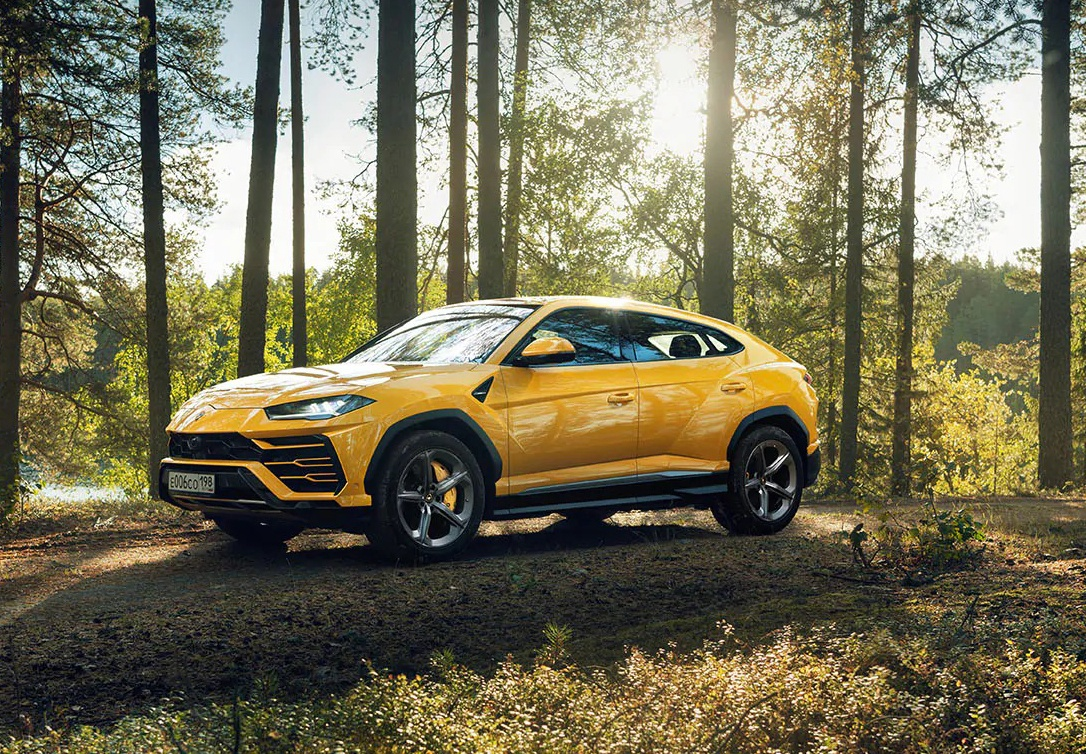 El Lamborghini Urus demuestra sus cualidades en un vídeo en Rusia
