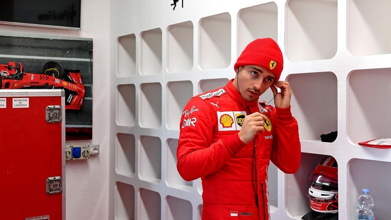 Leclerc, Sainz y Ferrari: «No le he dado consejos, sabe bien lo que hace»