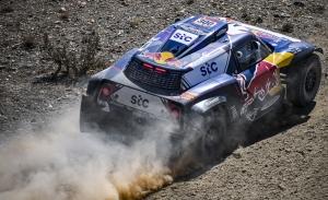 Santolino, Sainz o Gutiérrez, protagonistas del Dakar rumbo a Bisha