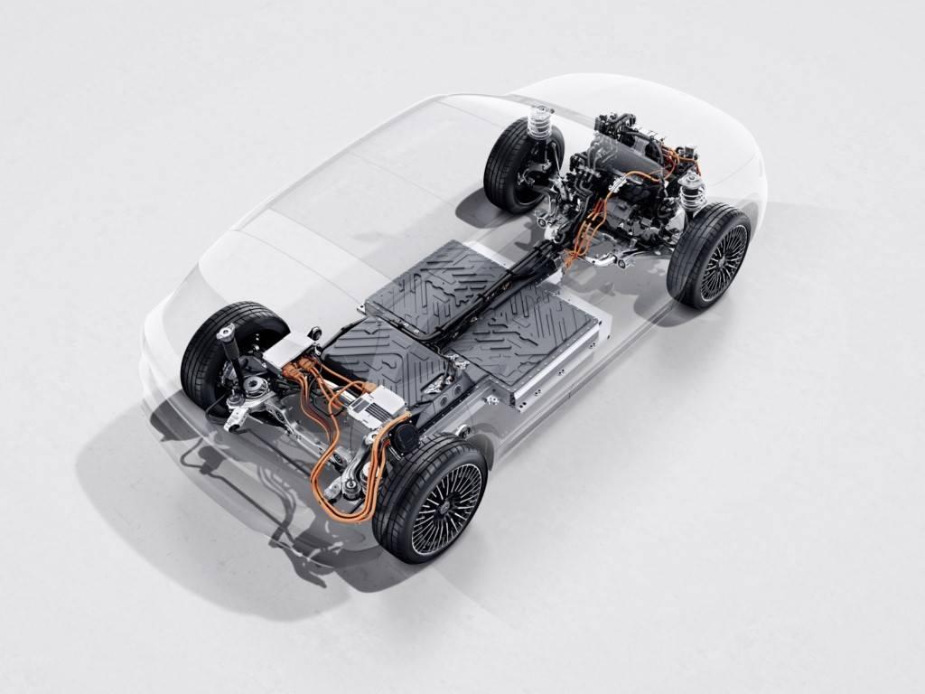 Foto Mercedes EQA 2021 - técnica