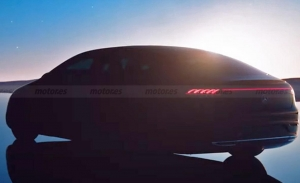 Primer teaser oficial del Mercedes EQS 2022, la berlina eléctrica de lujo se acerca