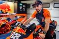 Miguel Oliveira ya luce los colores oficiales del equipo KTM de MotoGP