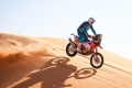 Skyler Howes, the 'giant' who is leader of the Dakar without raising his voice