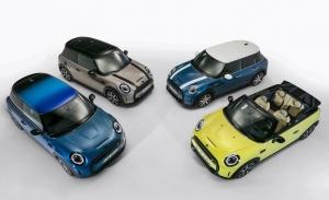 Los MINI 3 Puertas, 5 Puertas, Cabrio y Electric 2021 se presentan con novedades