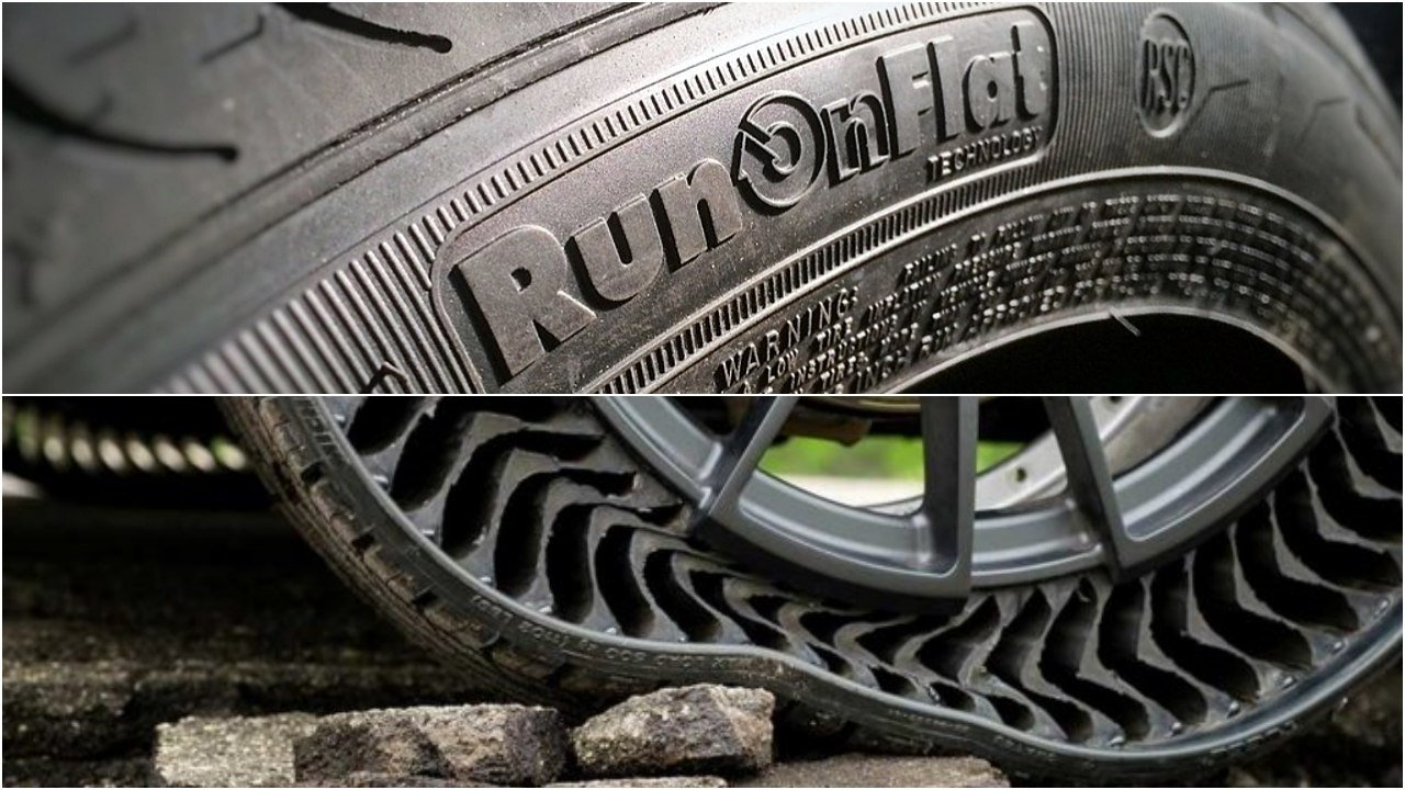 Neumáticos que no se pinchan: cuáles podemos comprar y cuáles vendrán