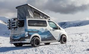 Nissan e-NV200 Winter Camper, para amantes de la naturaleza y la nieve