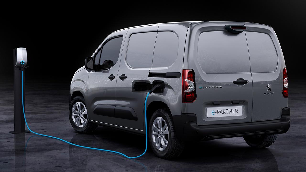 Peugeot e-Partner - posterior