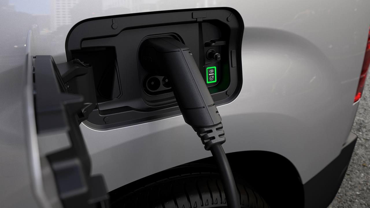Peugeot e-Partner - toma de carga