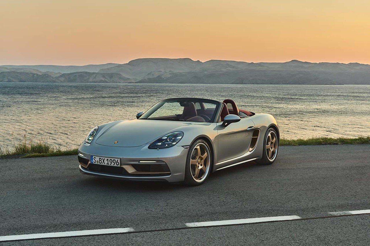 Porsche Boxster 25 Years: nueva edición limitada en homenaje al Boxster original