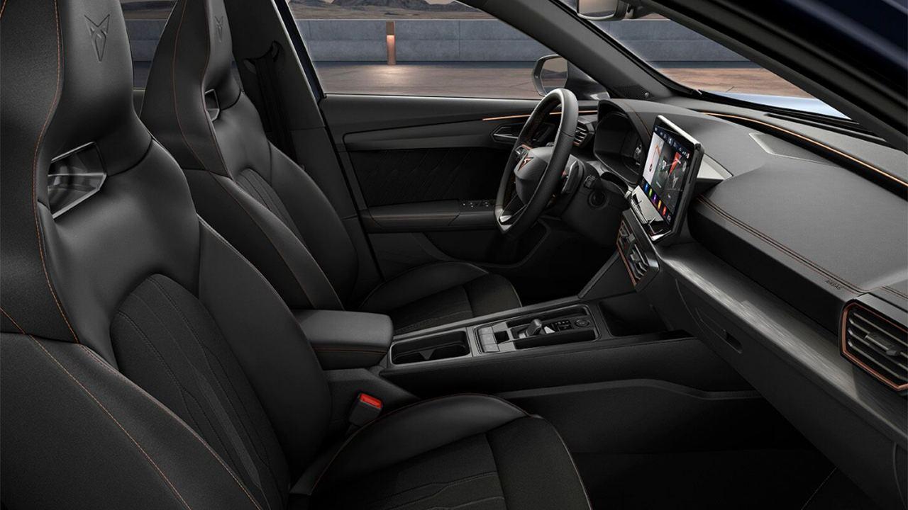 CUPRA Formentor e-Hybrid - interior