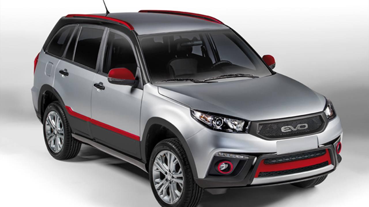 EVO5, un SUV que ofrece mucho equipamiento y un diseño aventurero