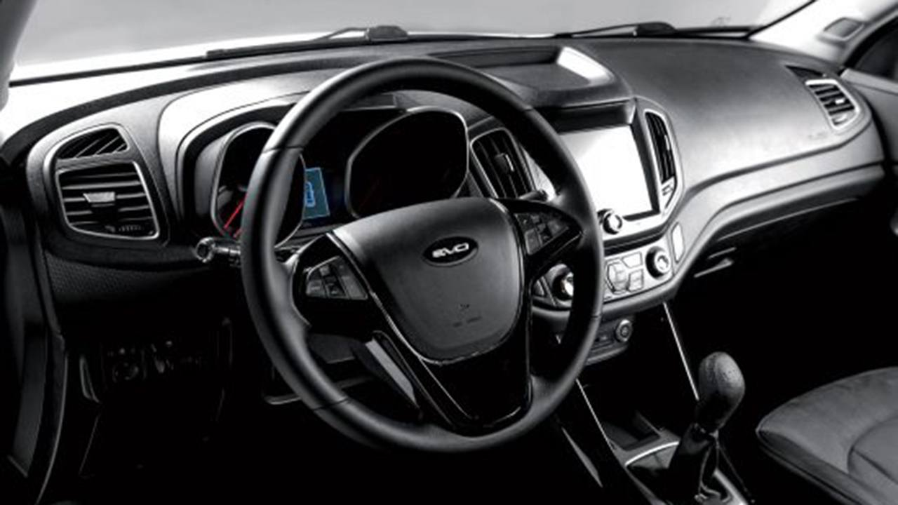 EVO6 - interior