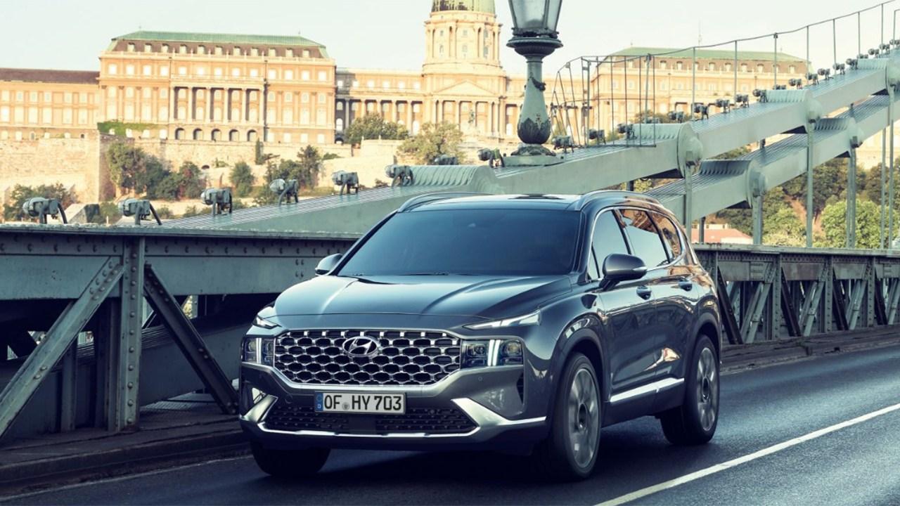 Hyundai Santa Fe 2021, ¿cómo es la versión diésel 4x4 más equipada? ¿Y su precio?
