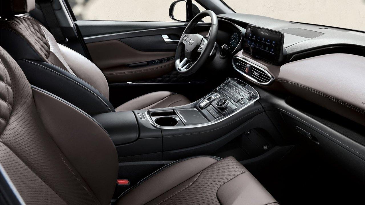Hyundai Santa Fe 2021 - interior
