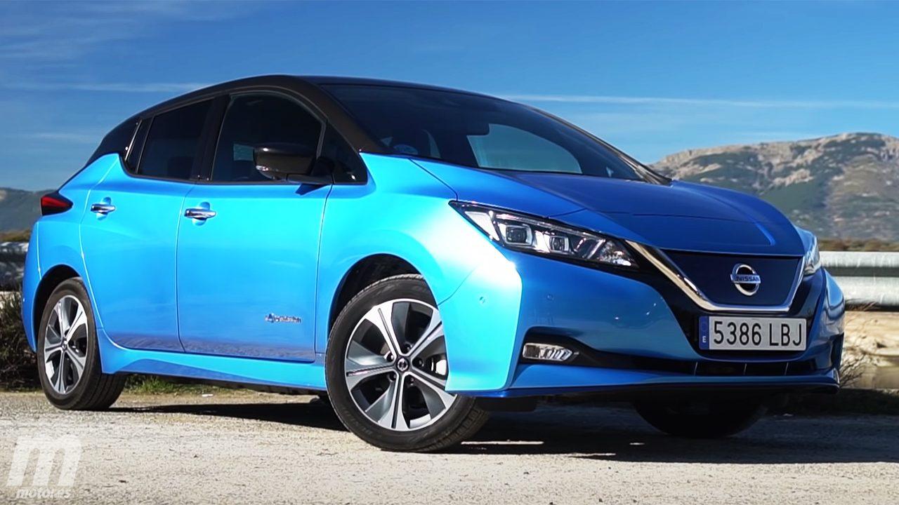El Nissan Leaf estrena un acabado N-Connecta mejorado con faros Full LED