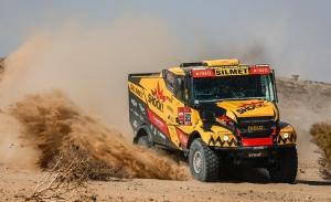 Las primeras dunas del Dakar aparecen entre Bisha y Wadi Al-Dawasir
