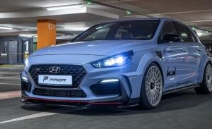 PRIOR Design lanza un paquete aerodinámico especial para el Hyundai i30 N