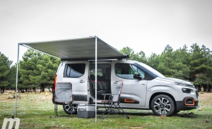 Prueba Citroën Berlingo by Tinkervan, una camper en formato mini
