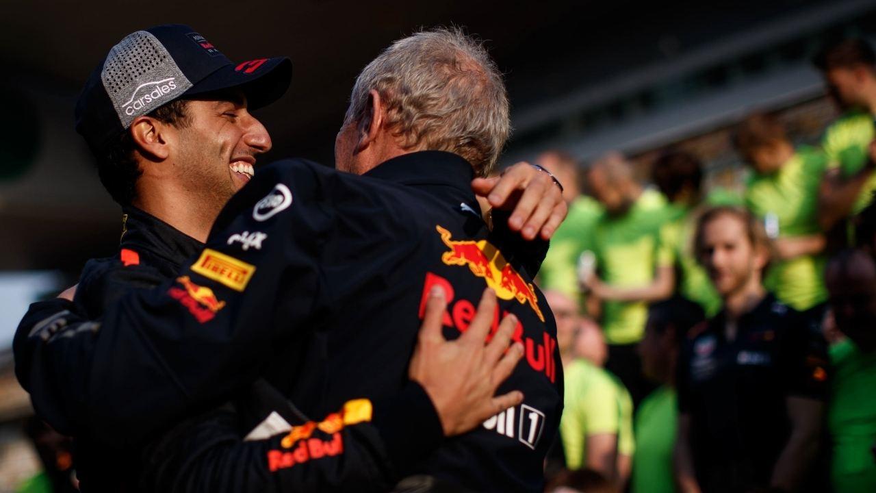 Ricciardo: «Helmut Marko se ha ablandado en los últimos años»