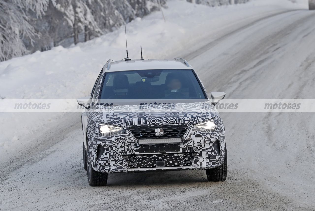 Nuevas fotos espía del SEAT Arona Facelift 2021 desvelan interesantes detalles