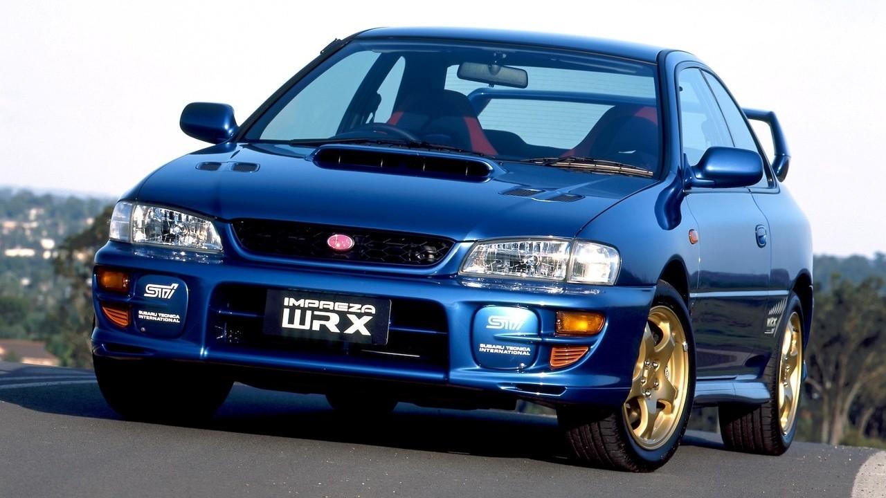 Amores de juventud: el Subaru Impreza WRX STi