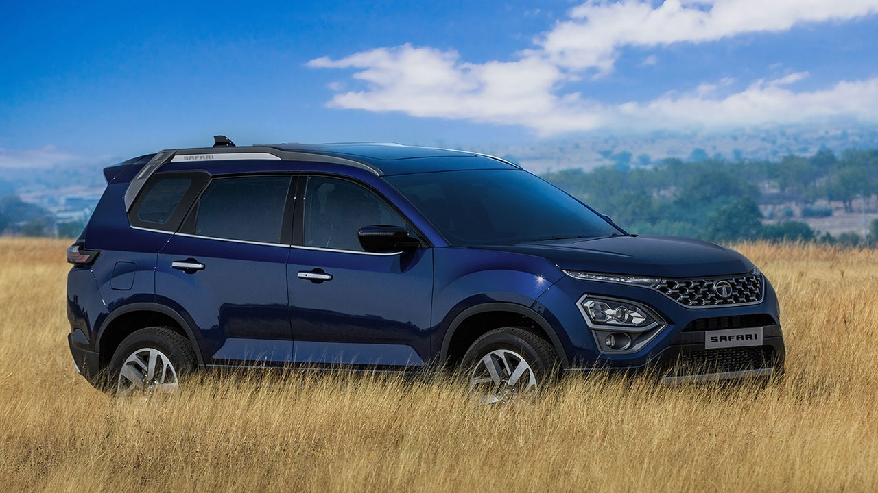 Tata Safari 2021 - lateral