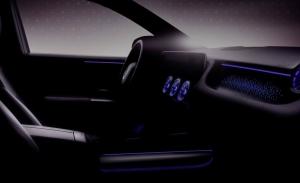 Un teaser del nuevo Mercedes EQA 2021 avanza su interior, y detalles interesantes