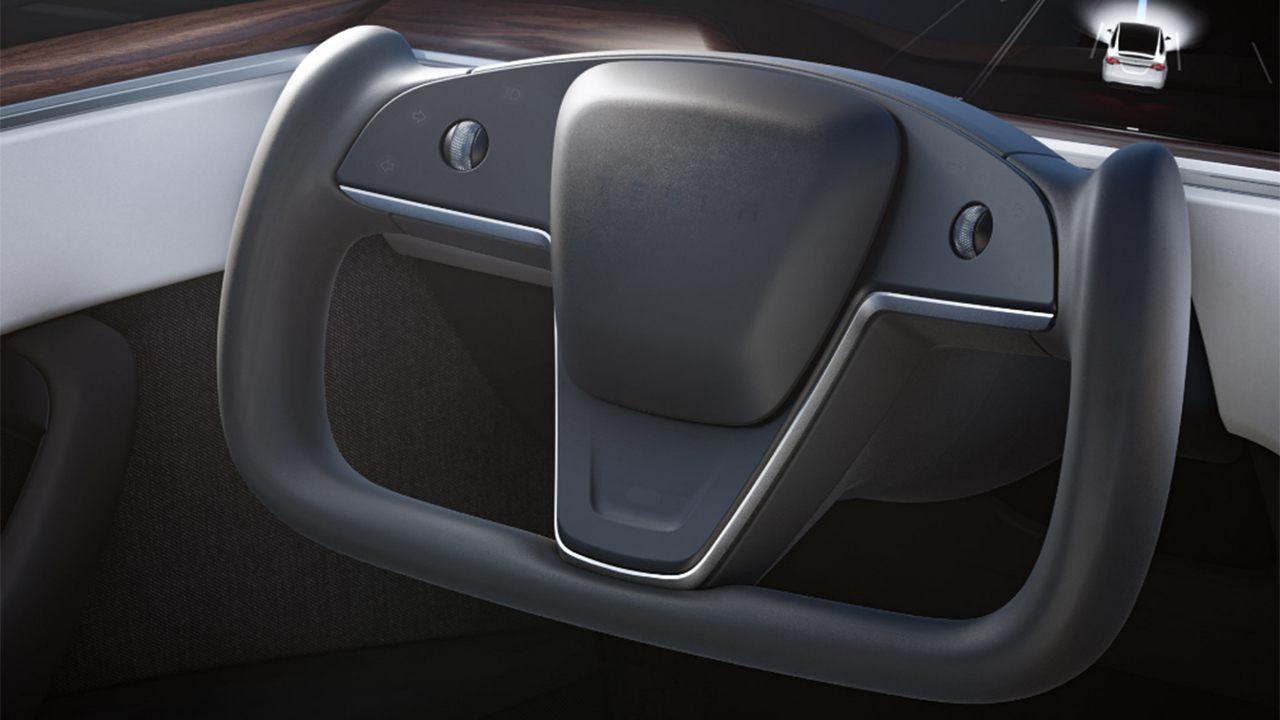 Tesla Model X 2021 - interior