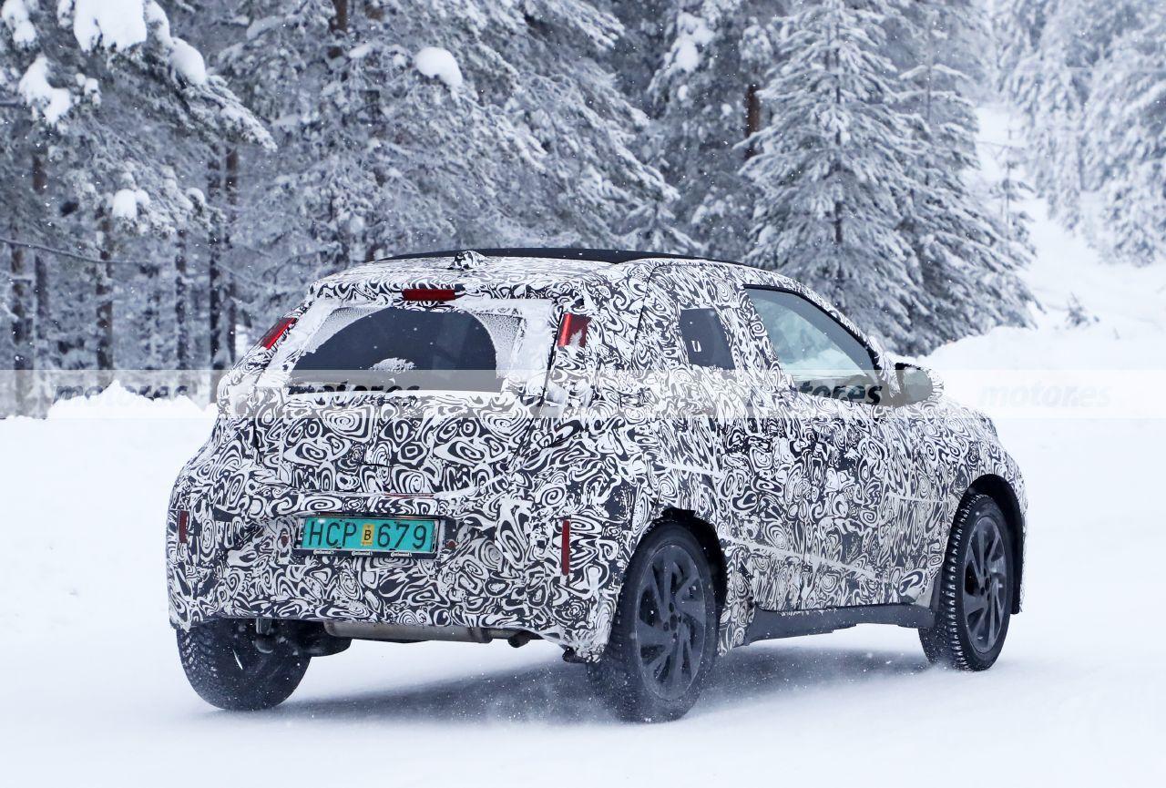 fotos espía Toyota Aygo 2022 - exterior