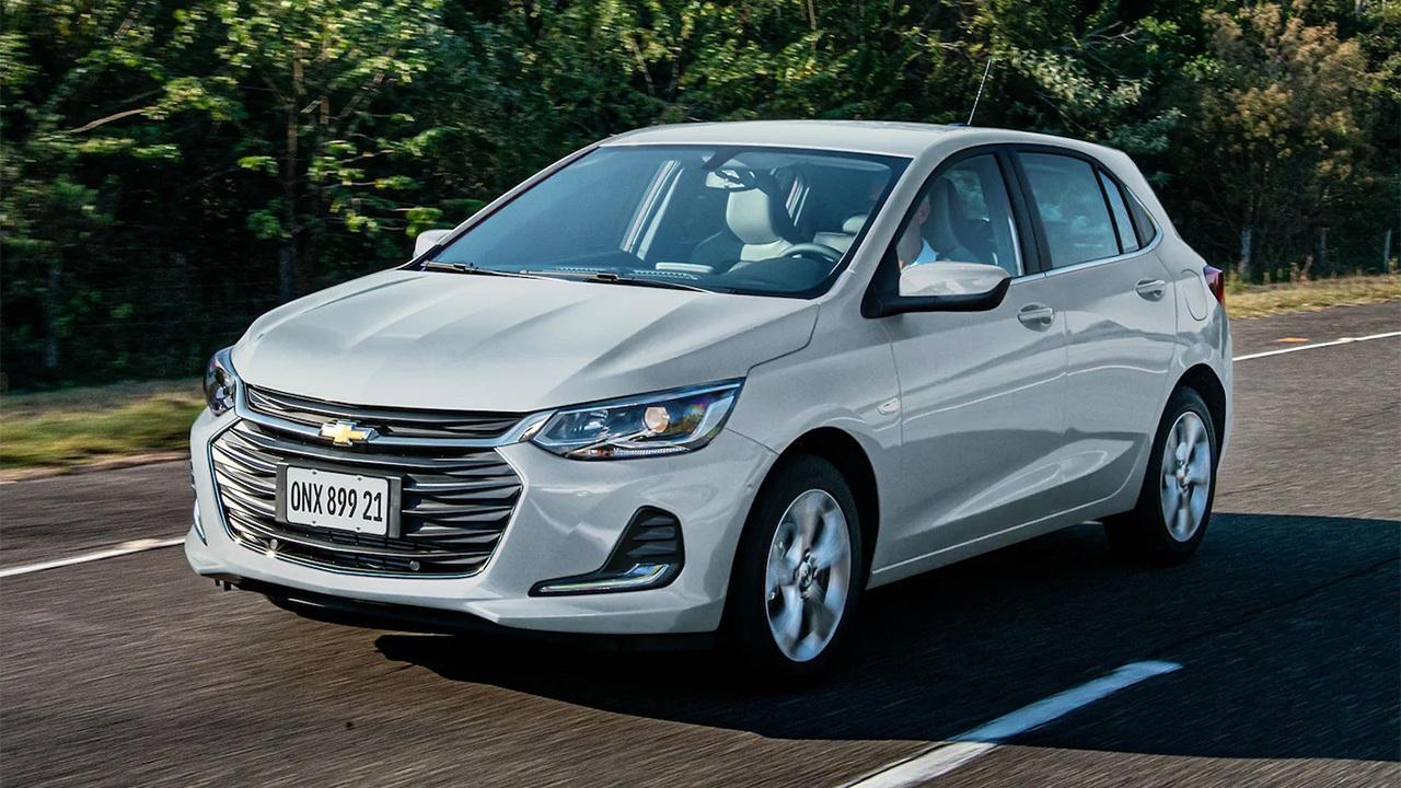 Brasil - Diciembre 2020: El Chevrolet Onix conquista al público brasileño