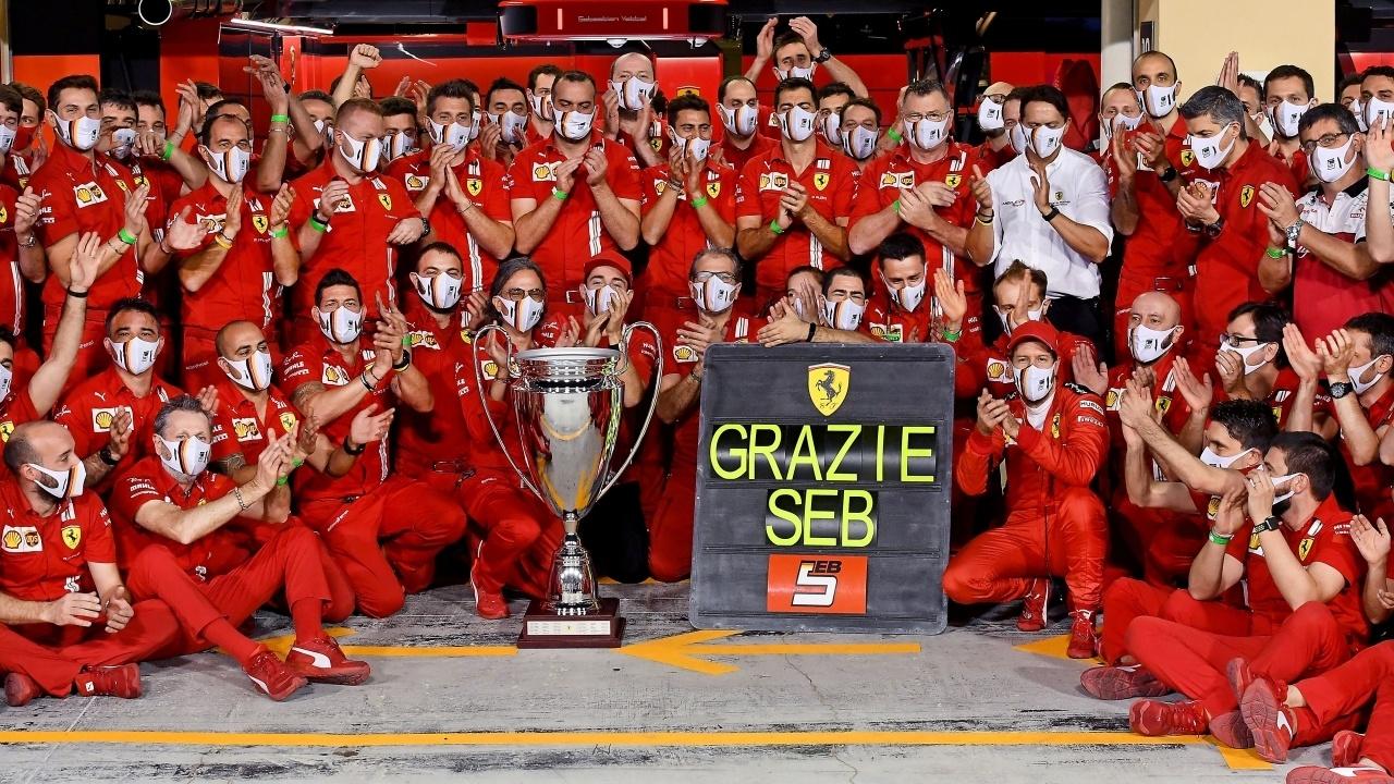 Vettel y su paso por Ferrari: «Fracasamos, no me siento traicionado por Binotto»