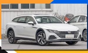 El Volkswagen Arteon Shooting Brake Alltrack 2021, al desnudo en unas fotos espía de China