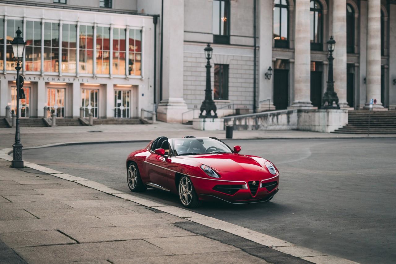 El último de los exclusivos Alfa Romeo Disco Volante Spyder aparece a la venta