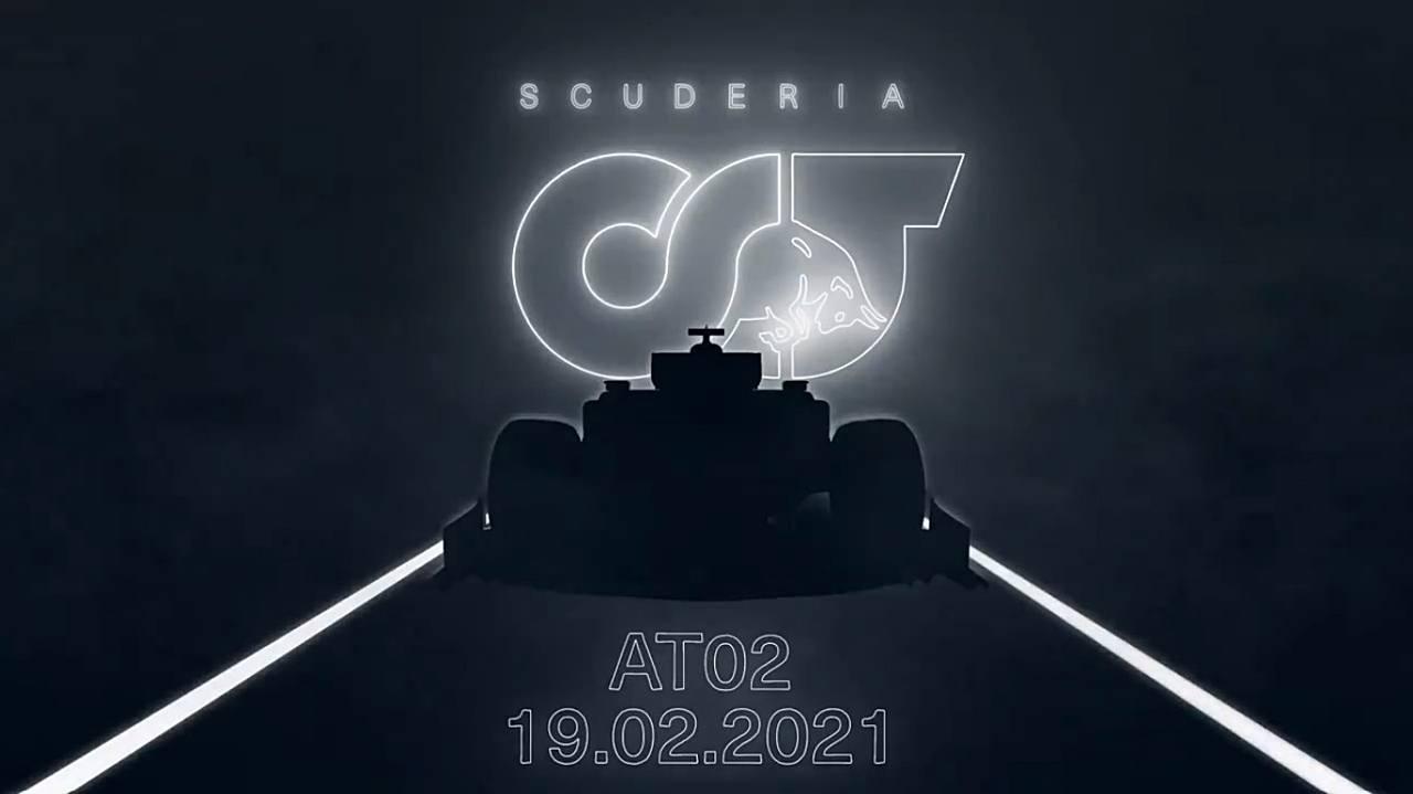 AlphaTauri desvela la fecha de presentación del AT02 de 2021