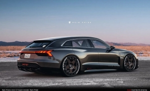 ¿Llegará un Audi e-tron GT Avant? Esta recreación avanza un modelo descartado