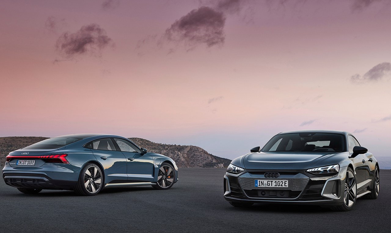 Los nuevos Audi e-tron GT, y RS e-tron GT, ya tienen precios en España