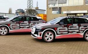 El nuevo Audi Q4 e-tron 2021 estrena el camuflaje de promoción liberando su diseño