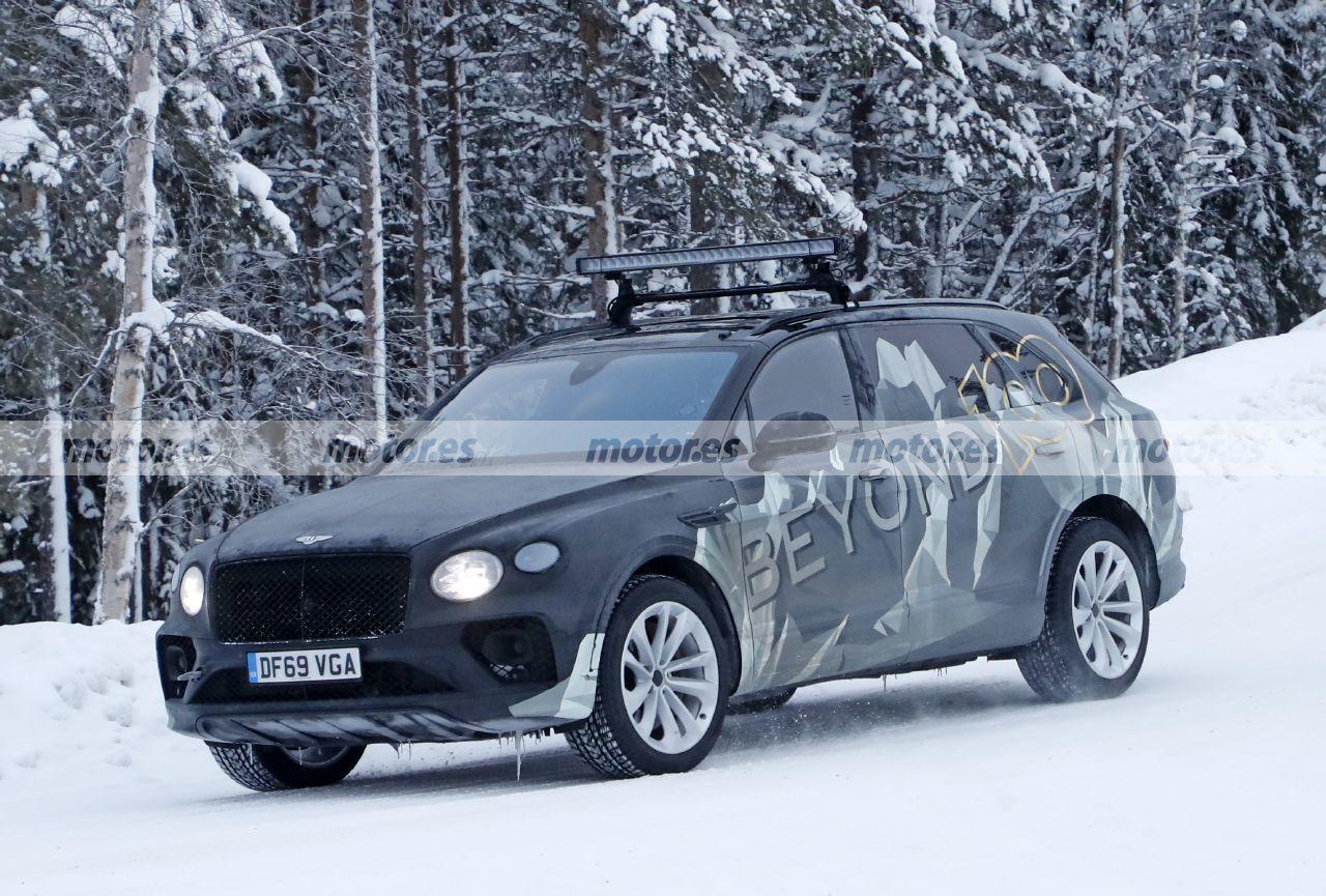 El nuevo Bentley Bentayga LWB 2022 pasa de fase, turno de las pruebas de invierno