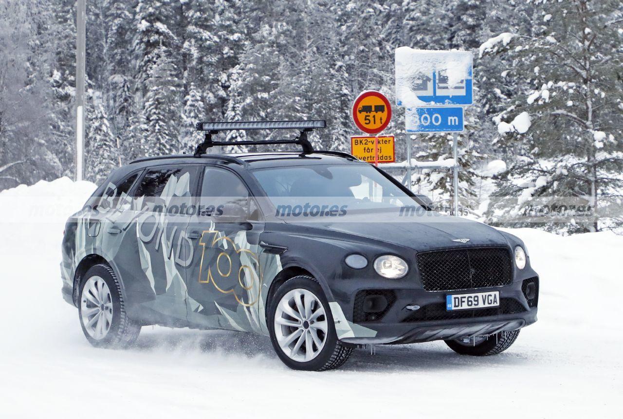 Foto espía Bentley Bentayga LWB 2022 - exterior