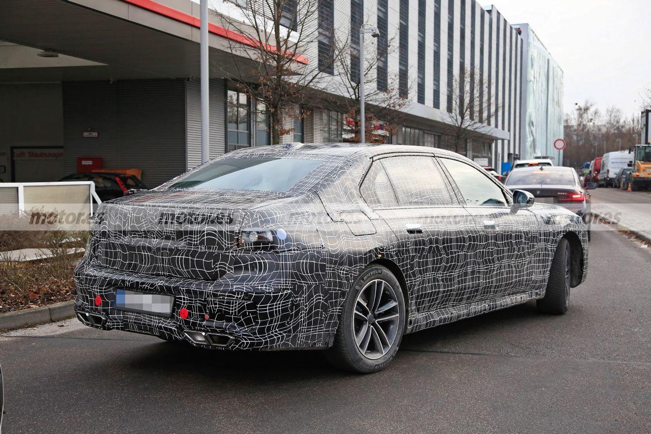 Fotos espía BMW Serie 7 2023 - Exterior