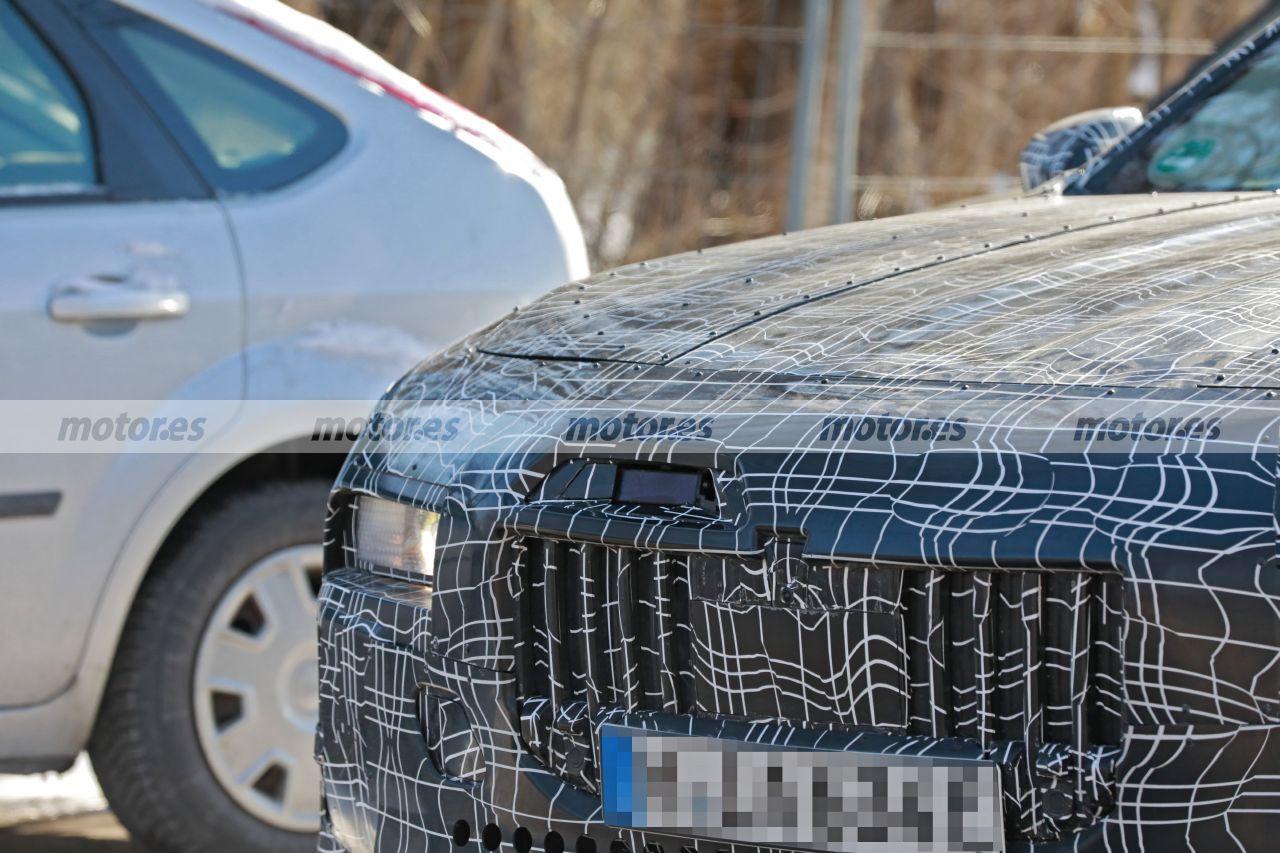 Fotos espía BMW i7 2023 - exterior