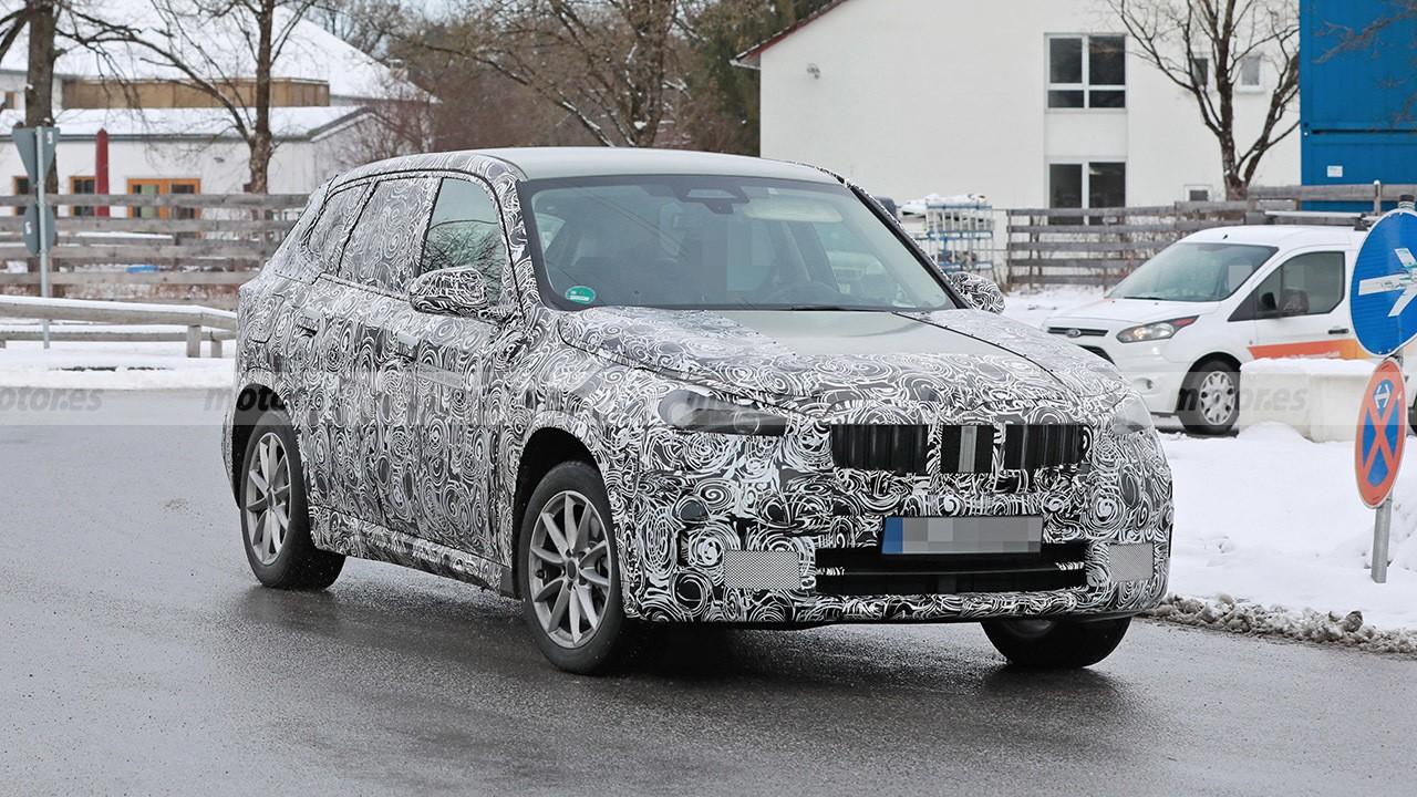 El BMW iX1, la alternativa premium al Volkswagen ID.4, al detalle en estas fotos espía