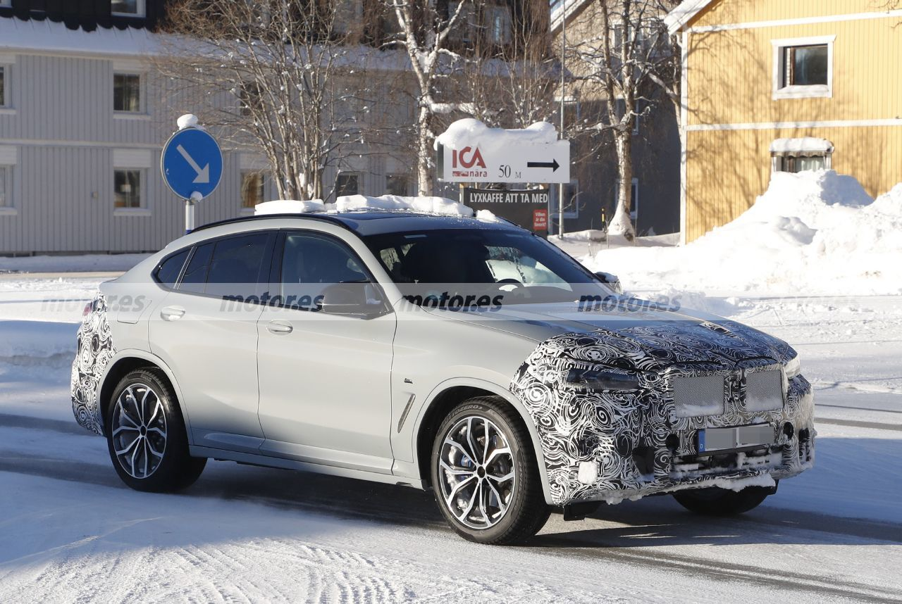 Spy photos BMW X4 Facelift 2022 - exterior