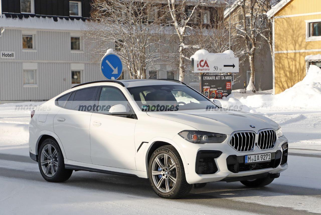 Fotos espía BMW X6 Facelift 2023 - exterior