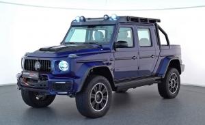 El exclusivo BRABUS 800 Adventure XLP, la quinta unidad fabricada, estrena color