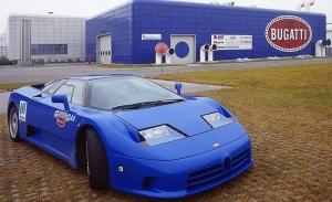 Reaparece el Bugatti EB110 cazarrécords alimentado por gas metano