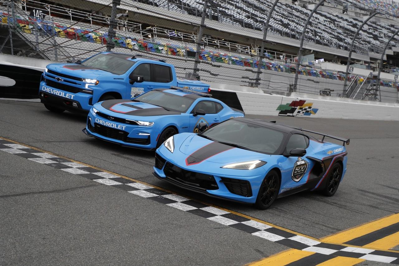 Chevrolet ha preparado una flota de Pace Cars de 1.389 CV para la Daytona 500