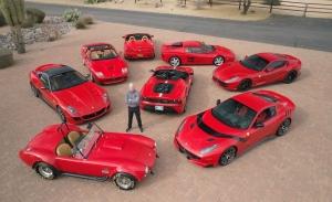 A subasta una impresionante colección completa de superdeportivos y muscle cars
