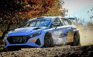 Craig Breen gana presencia en los test del nuevo Hyundai i20 N Rally2