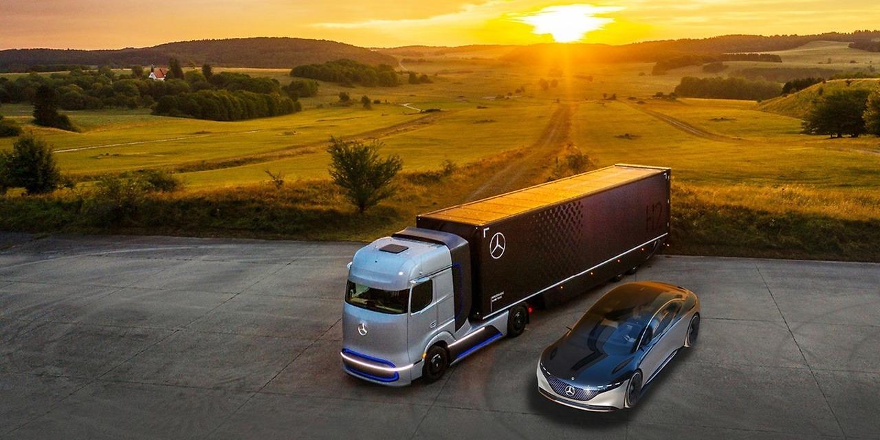 Daimler quiere separar su negocio de coches y furgonetas Mercedes-Benz del de camiones y autobuses